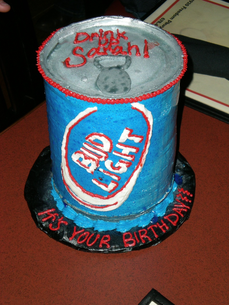 Bud Light Cake Cake Envy