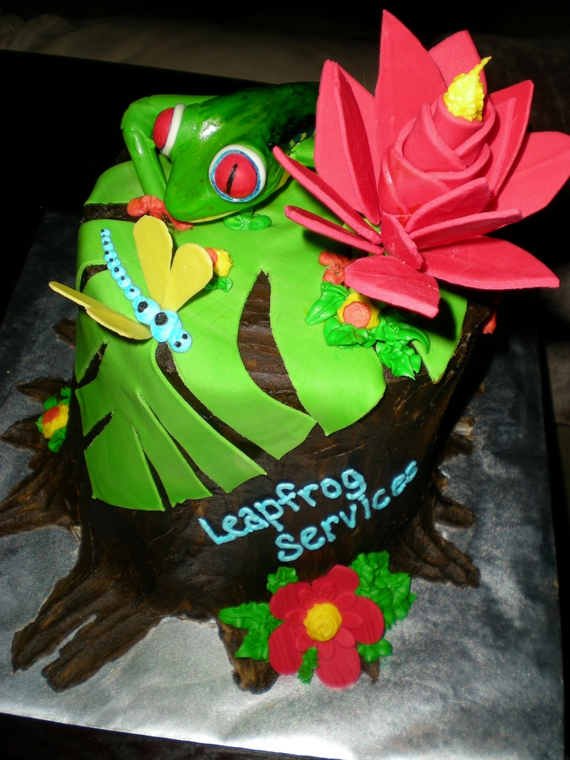 Red Eyed Tree Frog Cake Cake Envy