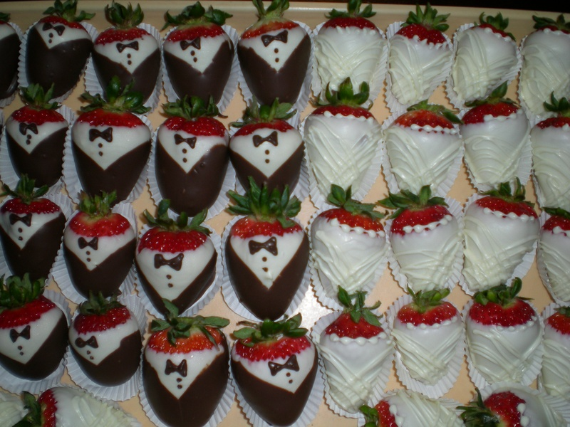Bride & Groom Strawberries!