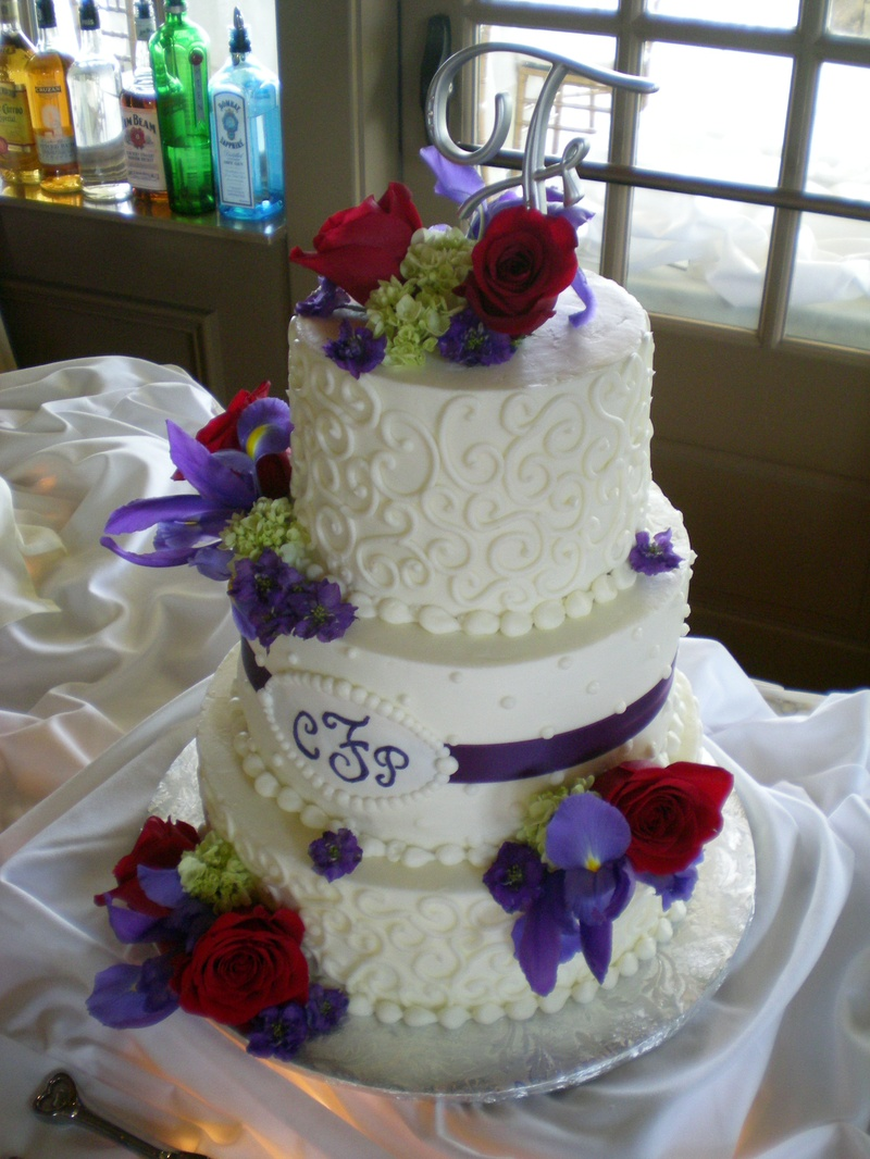 Cindy & Paolo's Wedding Cake