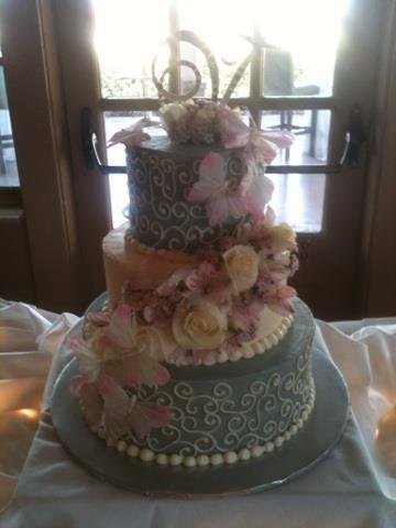 Dawn & Neil's cake