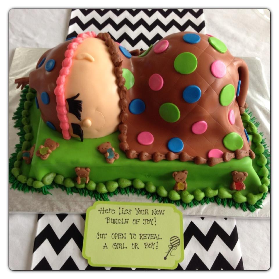 Gender Reveal Cake Cake Envy