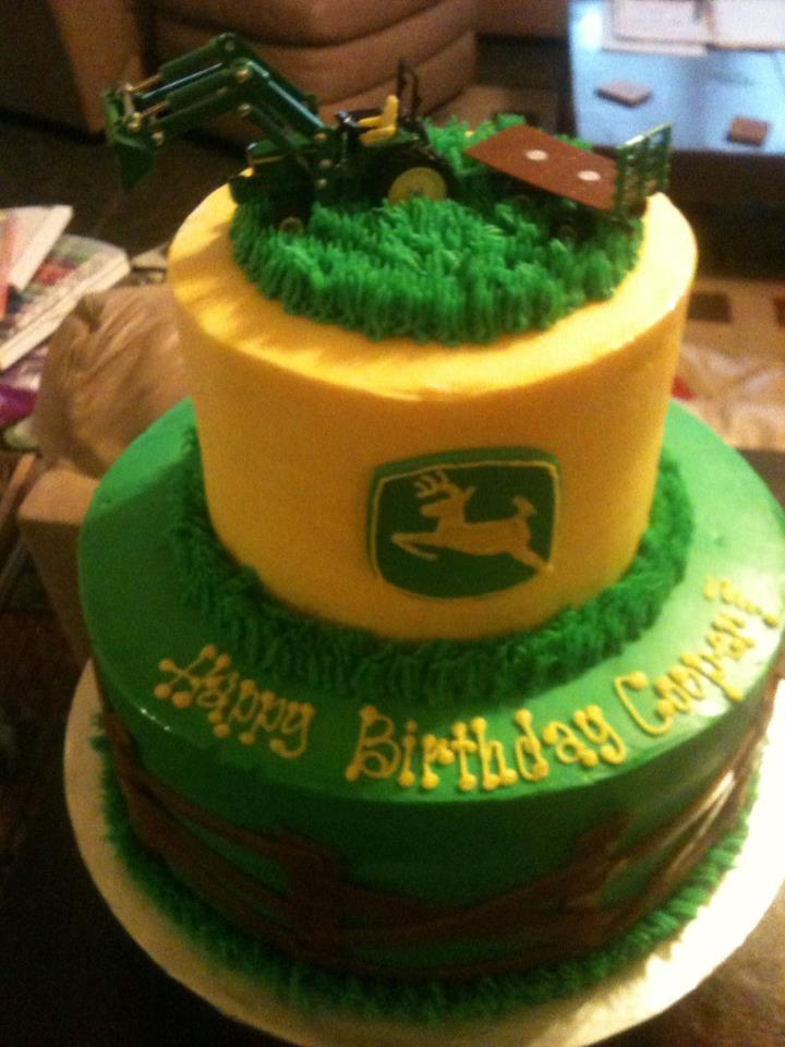 John Deere cake (bad iphone photo)