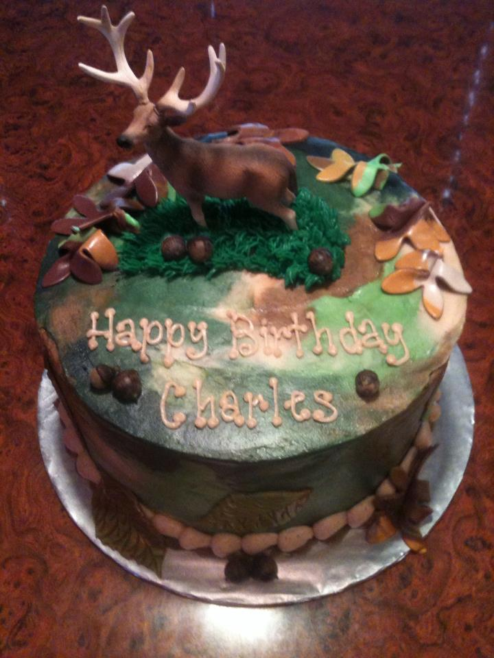 Deer hunting cake Cake Envy