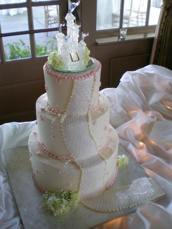 Amanda's Cinderella Wedding Cake