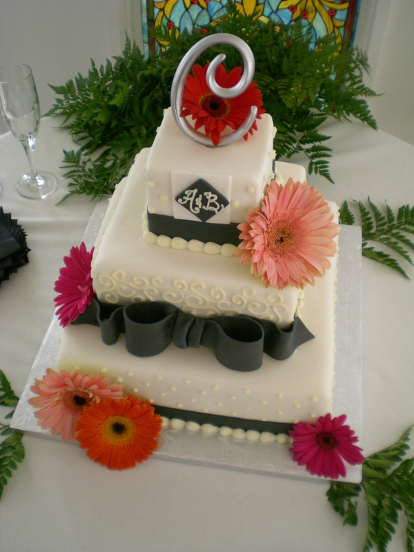 Amanda & Brian's wedding cake