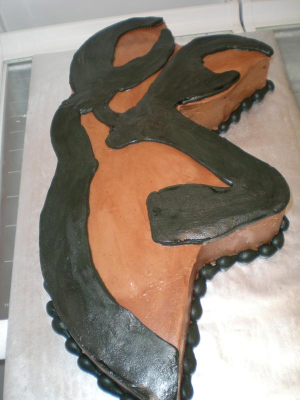 Browning Buckmark Grooms Cake