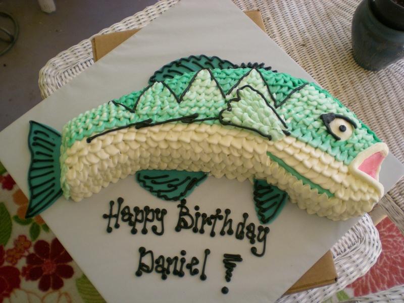 Fish Birthday Cake Cake Envy