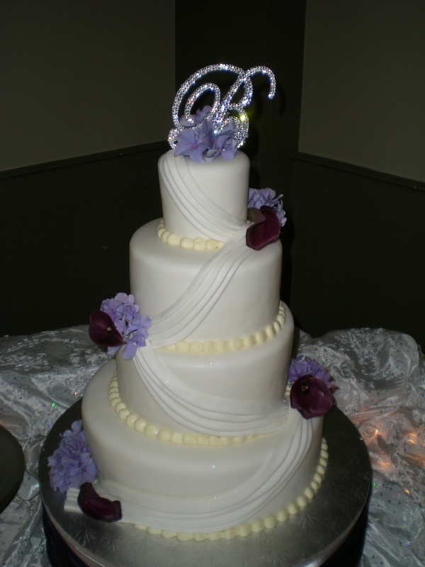 Kimberly's wedding cake