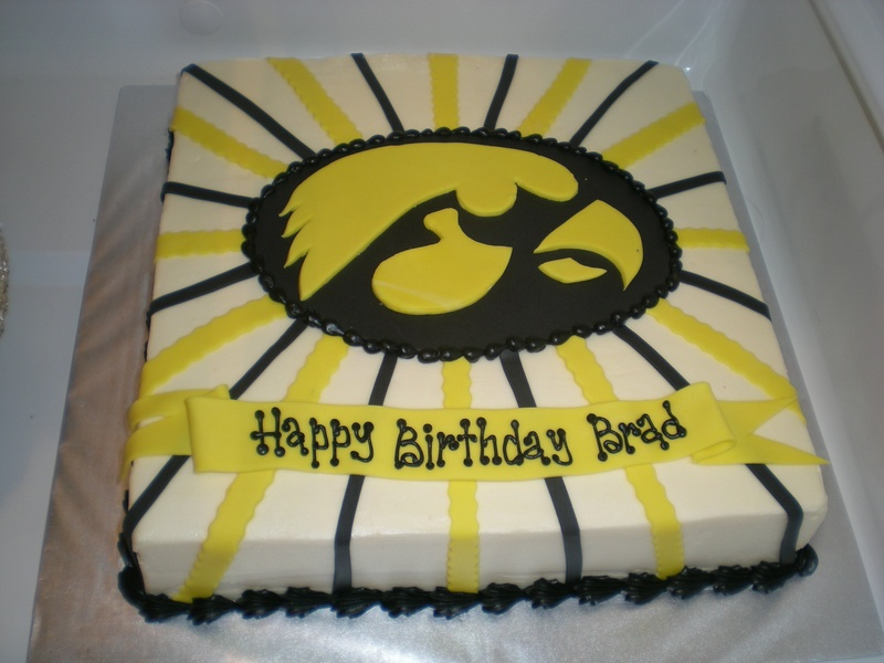 Iowa Hawkeye S Fan Cake Envy